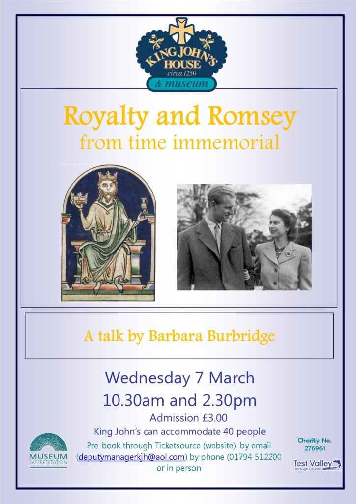Romsey and Royalty Poster